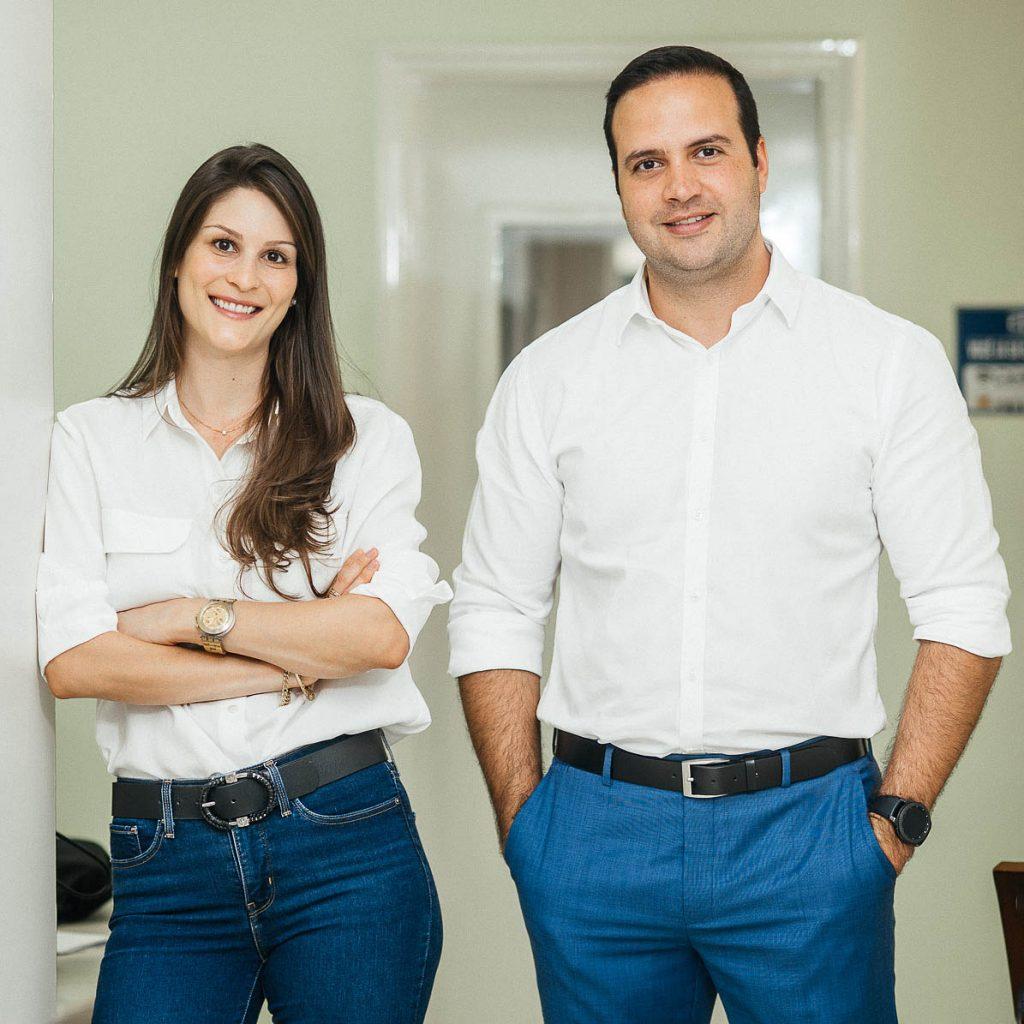 Thaissa Wagemaker e Antonio Carlos Baracat Filho